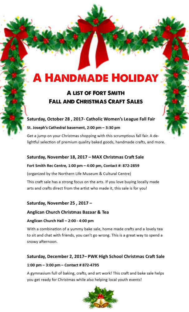 Arts Crafts Sales For The Perfect Present Town Of Fort Smith